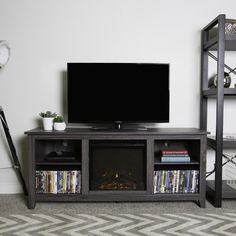 Found it at Wayfair - McCall TV Stand with Electric Fireplace