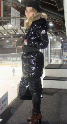 30517c03a59e Black Moncler  Moka  down coat