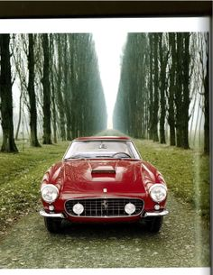 """""""I don't sell cars; I sell engines. The cars I throw in for free since something has to hold the engines in."""" - Enzo Ferrari  1960, Ferrari 250 SWB   #manoftheworld #ferrari #enzoferrari #engines #ferrari250 #engines #icons #madeinitaly #racingcar #vintageferrari #cavallinorosso #maranello #modena #italy #laferrari #vintageferrari #classiccar #racingcar #ferrarired"""