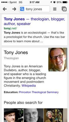 Be Careful about the Company you keep, the idols you worship – Tony Jones | Unsettled Christianity