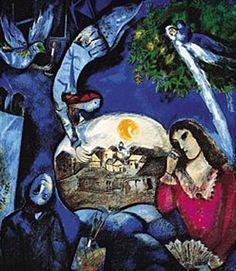 Marc Chagall | Em torno dela - Chagall
