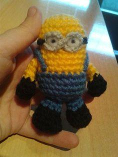 Little minion amigurumi (with pattern) by crocheter on deviantART