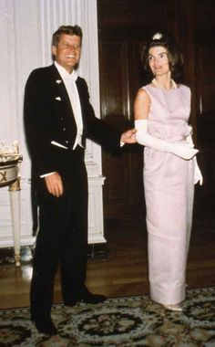 At a state dinner in honor of the Grand Duchess Charlotte of Luxembourg in April 1963.   31 Flawless Photos Of Jackie Kennedy