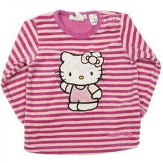 Bluza z weluru, Hello Kitty, 80