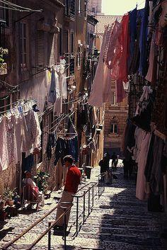 Alley, Lisbon, Portugal