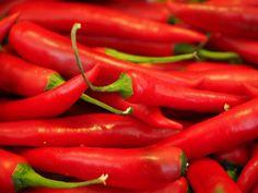 Chile, Rojo, Fuerte, Especias, Pepperoni, Vainas