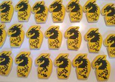Dragon Class Reunion Cookies
