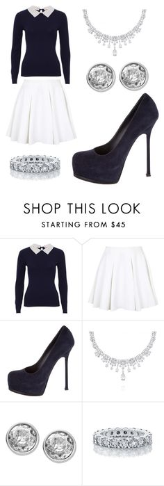"""""""Taken"""" by forever-young114 ❤ liked on Polyvore featuring Topshop, Yves Saint Laurent, De Beers, Michael Kors, women's clothing, women, female, woman, misses and juniors"""