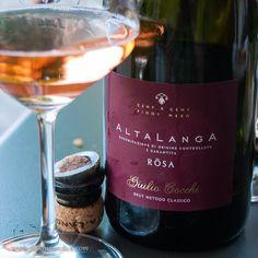 Alta Langa wine by Giulio Cocchi - brut metodo classico rose