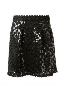 Marc Jacobs Eyelets and sequins skirt