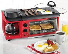New 3-in-1 Breakfast Station Multifunction Griddle, Coffee Maker & Toaster Oven in Home & Garden,Kitchen, Dining & Bar,Kitchen Tools & Gadgets | eBay