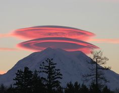 ....or not! lenticular clouds are the most beautiful from the ground looking up