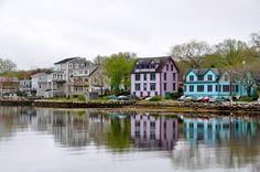 Mahone Bay, Nova Scotia. #Canada #Cruise