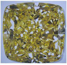 132.43 cttw, natural fancy vivid yellow, VS1