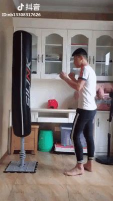 GIF The most brutal beating of a pear!