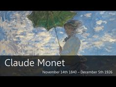 Claude Monet Biography - Goodbye-Art Academy - YouTube Many other artist bios as well.
