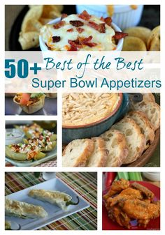 50 Best of the Best Super Bowl Appetizers