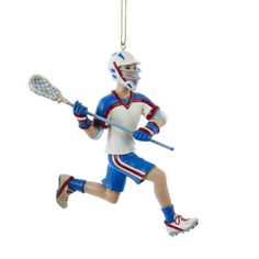 Boy Lacrosse Player Athlete Sports Christmas Tree Ornament *** You can get additional details at the image link.