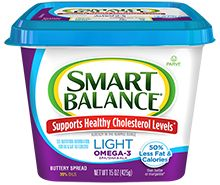 Light Buttery Spread with Flax Oil Healthy Cholesterol Levels, Butter Spread, Protein Supplements, Balance, 100 Calories, Ben And Jerrys Ice Cream, Nutrition Information, Omega 3, Saturated Fat