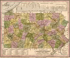 Pennsylvania State 1840 Historic Map by Tanner. A wide and growing selection of inexpensive reprints of rare Historic Maps are available from Hearthstone Legacy Publications at: http://www.hearthstonelegacy.com/Historic-Map-Reprints.htm
