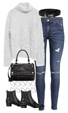 """""""Sin título #5104"""" by marym96 ❤ liked on Polyvore featuring H&M, Zara, Givenchy, ASOS, Yves Saint Laurent and Lauren Ralph Lauren"""