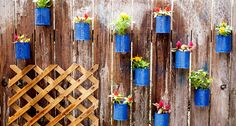 10 inspirational DIY garden projects that will make a big difference in your garden.