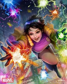 Marvel War of Heroes - Jubilee, HyunJoon Kim on ArtStation at https://www.artstation.com/artwork/marvel-war-of-heroes-jubilee