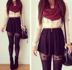 heart tights? I'm down with that