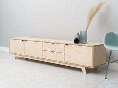 Tv Furniture, Joinery, Storage Organization, Bench, Woodworking, Cabinet, Interior Design, House, Inspiration