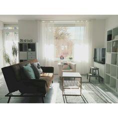 nenaさんの、部屋全体,IKEA,カーテン,北欧,シンプル,シンプルモダン,賃貸,アルファベットオブジェ,シンプルナチュラル,白い壁,写真むずかしい,ミニマリスト,アルファベットモチーフ,逆光で暗い,塩系インテリア,ミニマリストになりたい,のお部屋写真