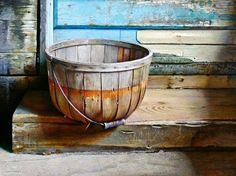Basket at Olsens Tempera. John Walley