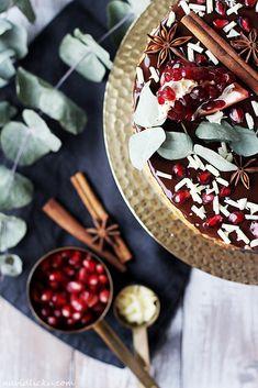 Gingerbread Cheesecake / Perníkový cheesecake | Na vidličku food blog