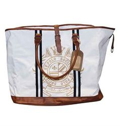 HV POLO SCHOUDERTAS DIABLO WEEKENDER BAG  Large enough for a quick trip or horse show! Black or White. One Size. DRC7067 GREAT PRICE: $69.95  * PRICES VALID MAY 1, 2013 – AUGUST 31, 2013.