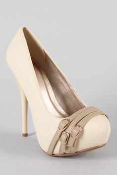 Strapped Stiletto Pumps