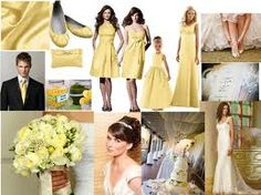 yellow wedding theme - Google Search
