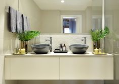 white bathroom White Bathroom, Double Vanity, Barcelona, Modern, Spaces, Home, Design, House, White Bathrooms