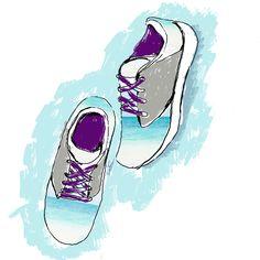 Sneaker illustration photoshop https://www.behance.net/kanthaporn/wip #fashion #fashionillustrator #fashionillustration #photoshop #draw #fashion #pmillustrator