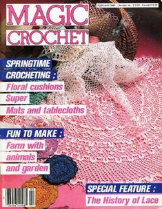 Magic crochet beautiful coasters and womans spring cardigan № 46-1987