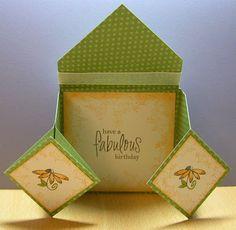 Stamping For Pleasure: Fancy Folds - Part II