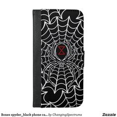 Bones spyder_black phone case