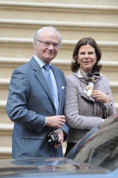 Los Reyes de Suecia viajan a Nueva York para conocer a su nieta