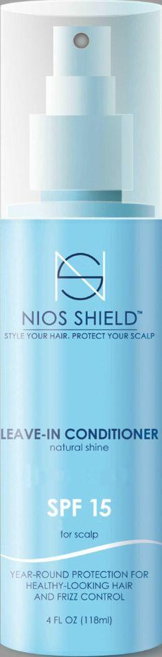 Nios Shield Leave-In Conditioner SPF 15, 4.0 fl. oz.