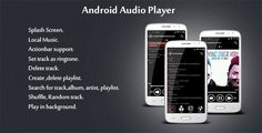 Android Audio Player (Audio/Video)