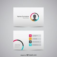 Business card vector graphics