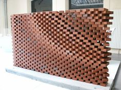 Brick - Jali Facade using Grasshopper Brick Cladding, Brick Facade, Brick Design, Facade Design, Brick Architecture, Architecture Details, Deco Design, Wall Design, Brick Detail