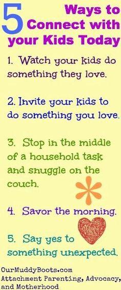 Attachment parenting principles