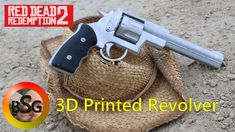 In honor of Red Dead Redemption 2 Coming out I made a Prop printed Revolver! With the newest release of the Red dead redemption series out on store shelve. Red Dead Redemption, Revolver, Blacksmithing, Corner, Prints, How To Make, Blacksmith Shop, Blacksmith Forge, Revolvers
