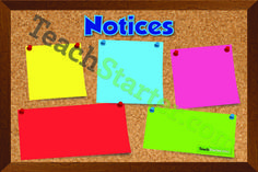 Notice Board. Don't forget important dates or information ever again | Teach Starter