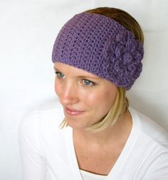ear warmers - @carlagupta you should make one of these for yourself for when you run! Super cute!