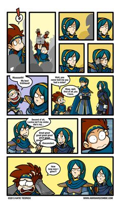 From Awkward Zombie. Now this one is just flawless xD Video Game Memes, Video Games Funny, Funny Games, Super Smash Bros Memes, Nintendo Super Smash Bros, Cod Bo2, Awkward Zombie, Super Smash Ultimate, Mini Comic